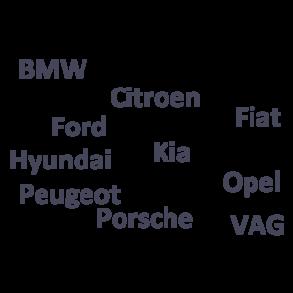 Bilmærke sorteret